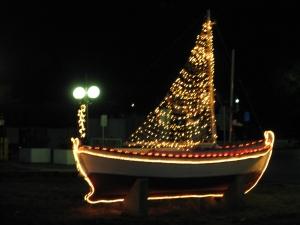 X-Mas Kea boat