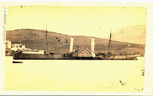 Ατμόπλοιο με ρόδες αντί προπέλες