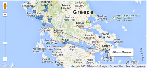 Χάρτης Διαδρομής
