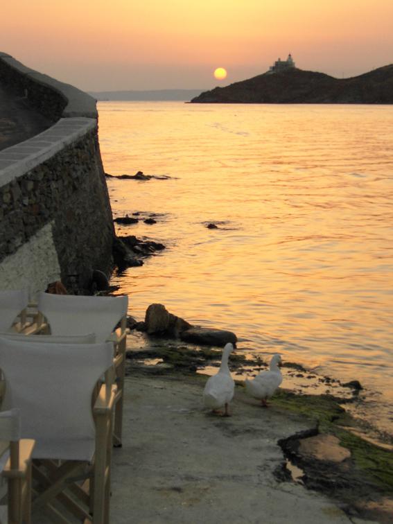 Vourkari Sunset & St.Nicolo Lighthouse