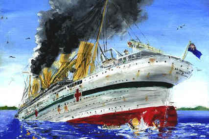 britannic-sinking-painting-by-ryan-hill