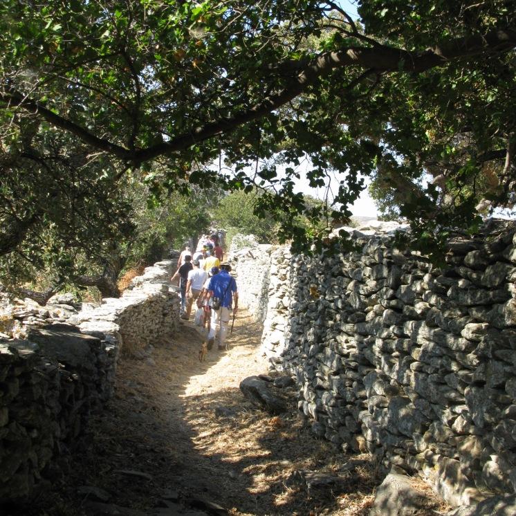 Ag.Marina path shaded spot